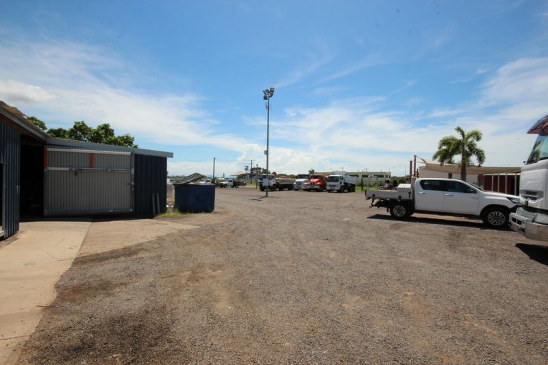 Townsville Industrial Yard near Highway