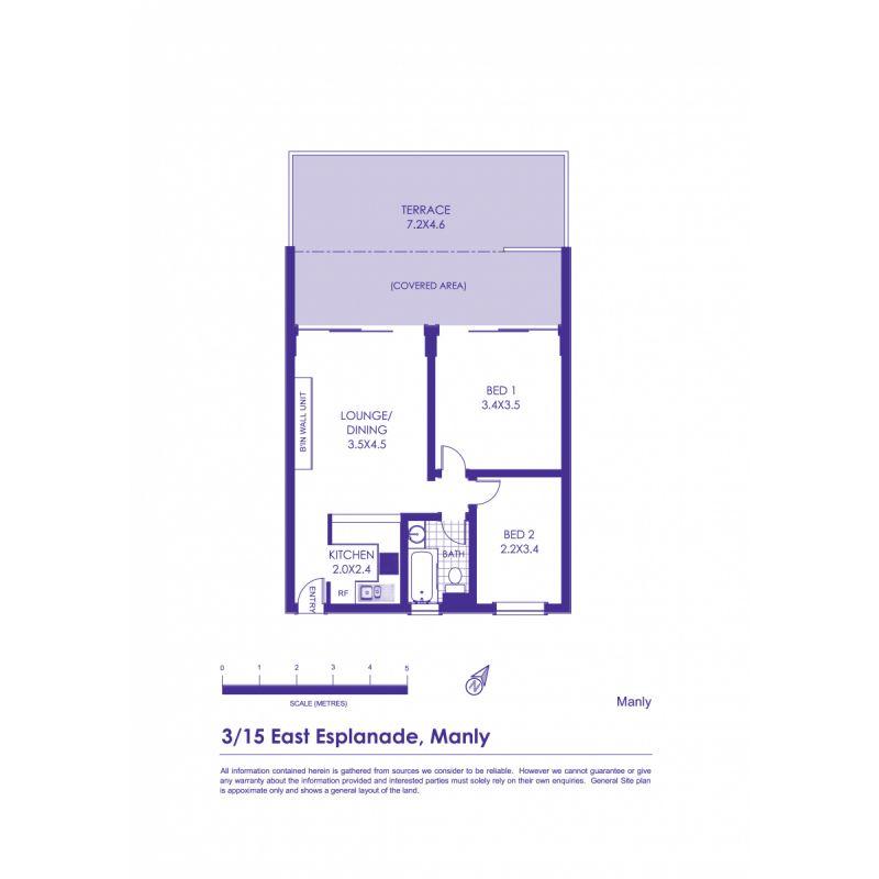 3/15 East Esplanade Manly 2095