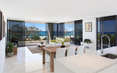 BEACHFRONT LIFESTYLE BECKONS FROM ACCLAIMED ECLIPSE APARTMENT