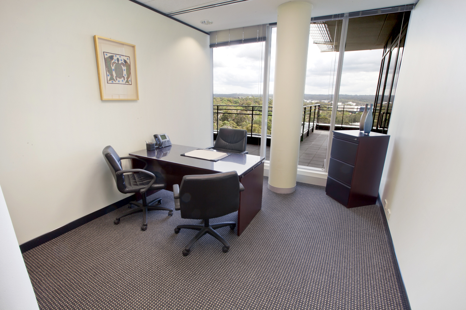 2-PERSON OFFICES LOCATED IN MACQUARIE PARK