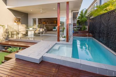 Near-New, Pet-Friendly Home with Your Own Private Pool by the Broadwater!