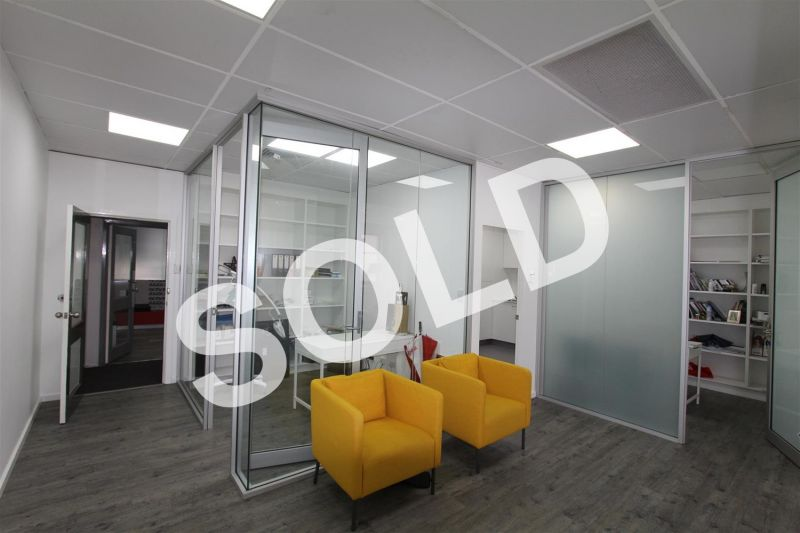 SOLD BY MITCH BROWN - 68m² Office Surrounded by Cafes & Parking!