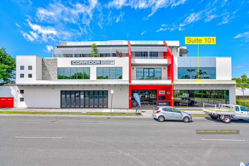 228m2* Of Quality Office With Security Access