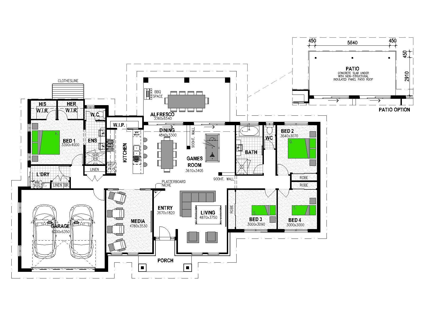 LOT 47 'MANOOKA ESTATE' MOGGILL Floorplan