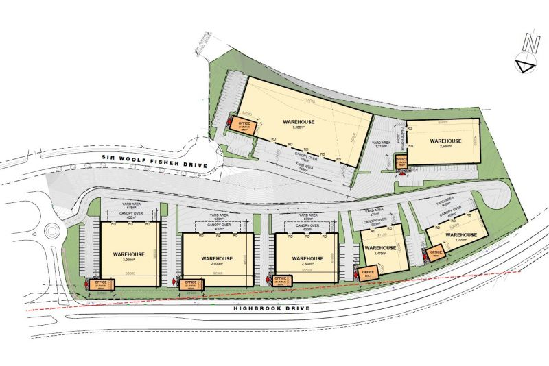 Gateway units 1,200-6,000sqm