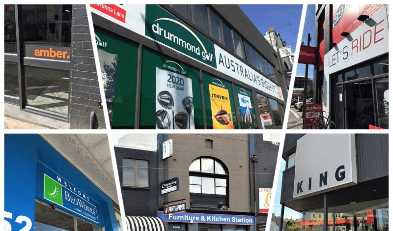PROMINENT CITY FRINGE SHOP IN SUPER LOCATION – 209 sqm TOTAL - 3 UNDERCOVER CAR SPACES