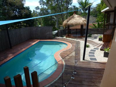 Family home with Swimming pool backing onto reserve!