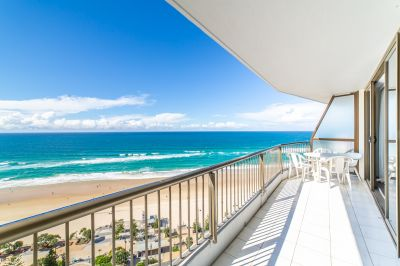 High Floor Beachfront Bargain
