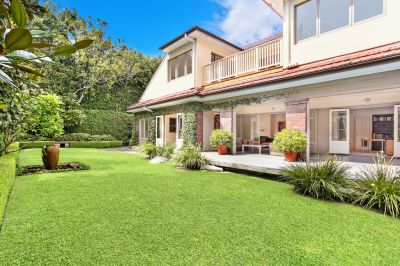 Stunning Dress Circle Family Home. Approx. 870sqm Sundrenched Level Land Offering Superior Elevated Position with Private Tree-lined Driveway
