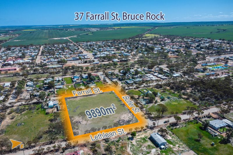 Commercial Property For Sale: 37 Farrall Street, Bruce Rock, WA 6418