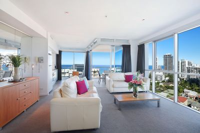 Stunning high floor ocean views!