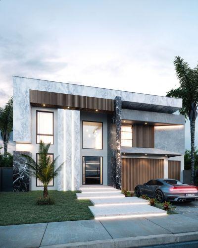 Custom Built Modern Luxury in Prestigious Gated Resort