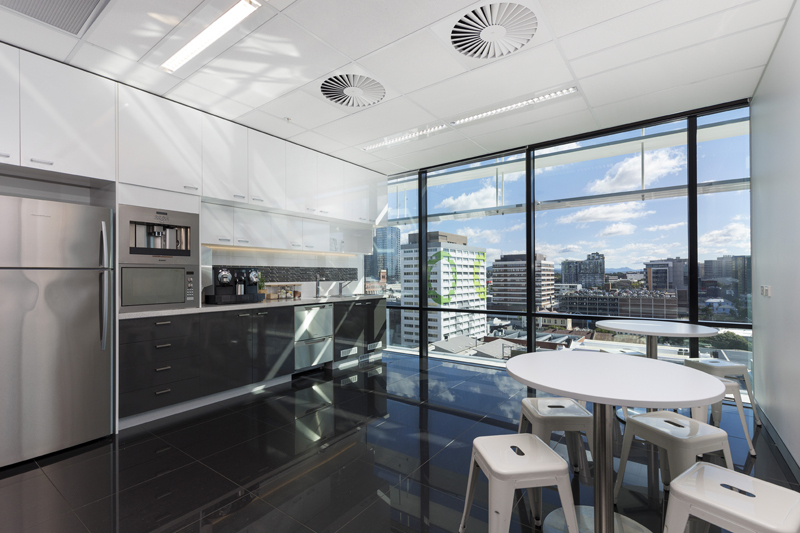 36 desk office with spectacular views of Brisbane CBD in the heart of Fortitude Valley!