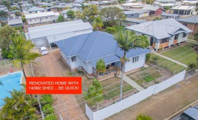 RENOVATED HOME WITH 140M2 SHED, 2 LARGE LIVING AREAS + STUDY…