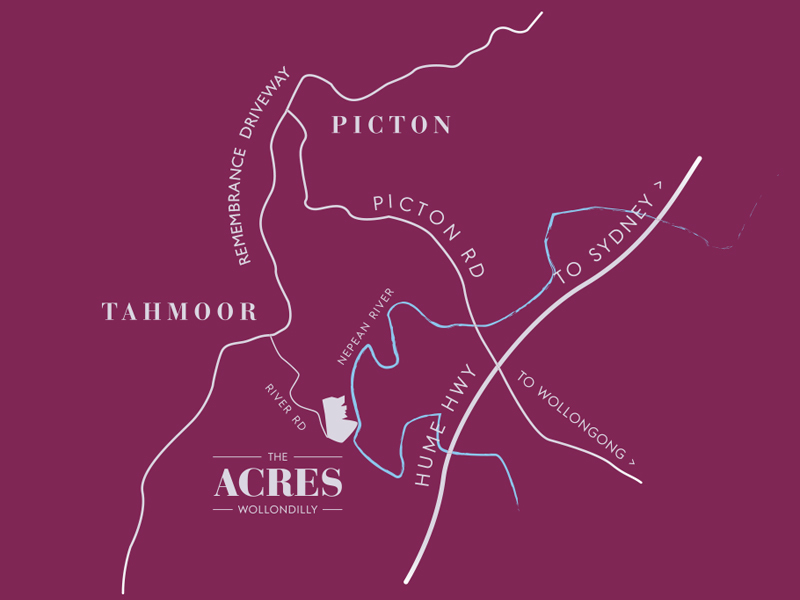 Tahmoor Lot 301  Proposed Road | The Acres