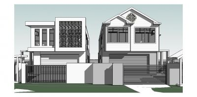 DA Approved Waterfront Site for 2 x Luxury Designer Homes