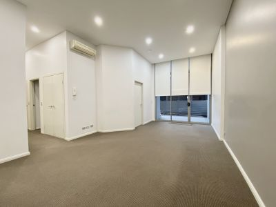 Rare high ceiling two bedrooms apartment in a security Complex  Open for inspections