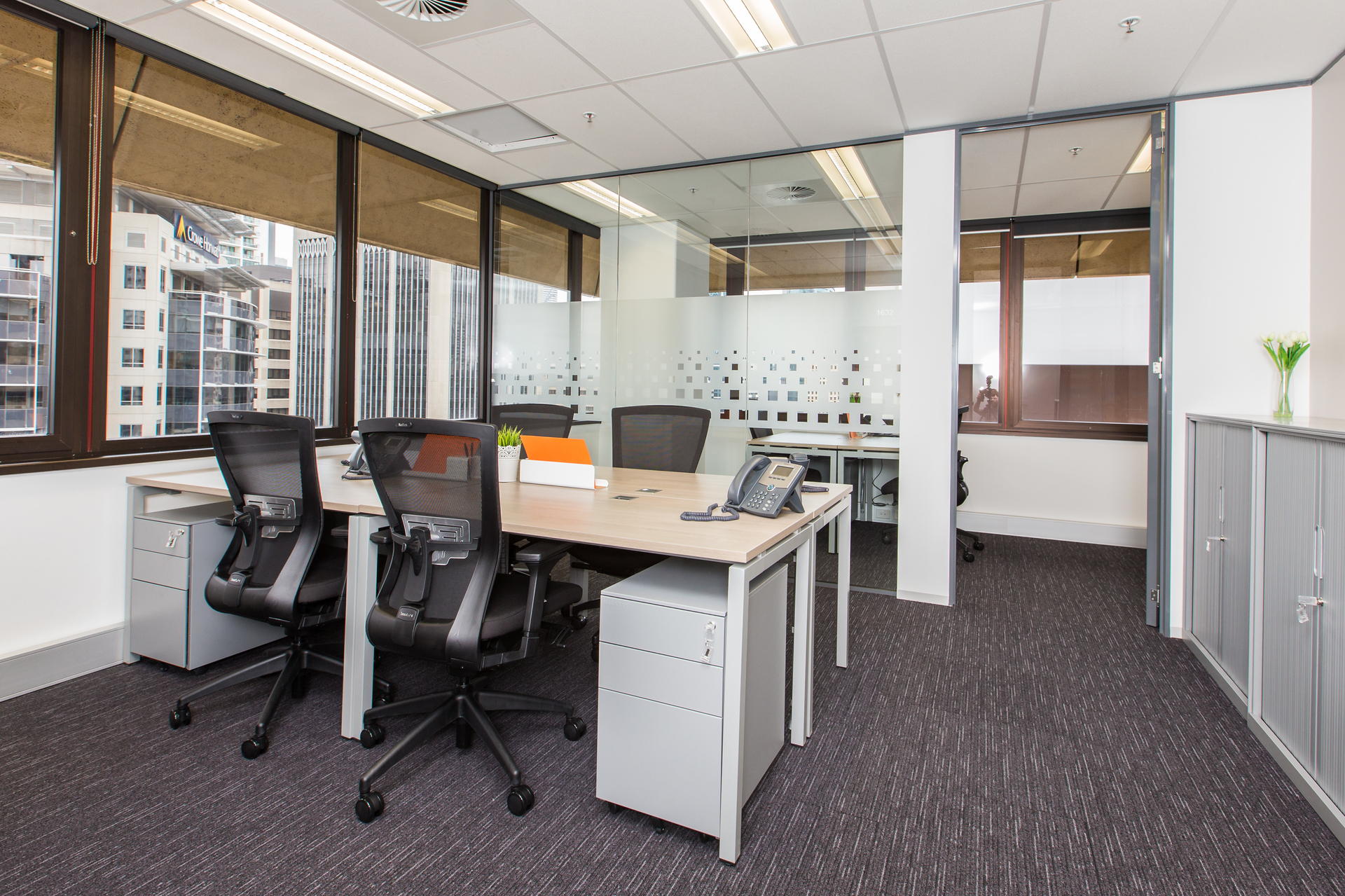 Amazing offices with flexible terms available now at 200 Mary Street for 10 people. Enquire today!