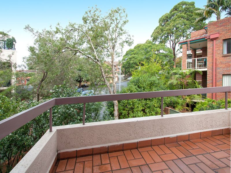 Secured car space, spacious balcony + private leafy views!