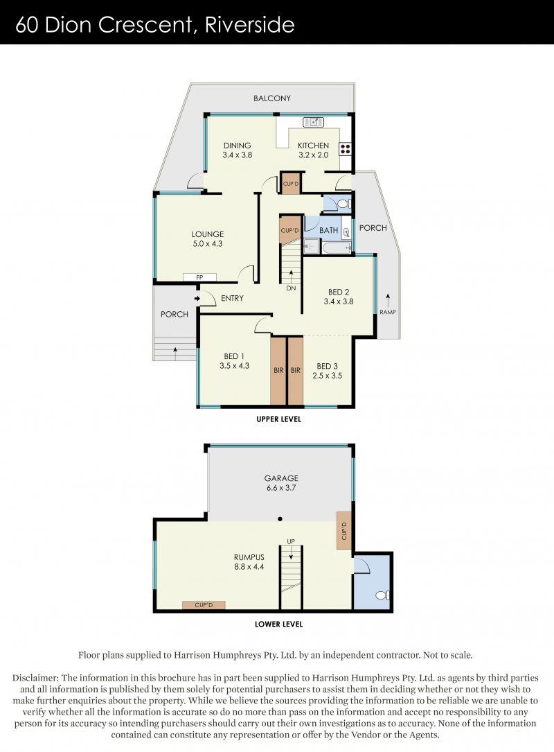 60 Dion Crescent Floorplan
