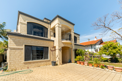 3 Storey South Perth Mansion with stunning River and City Views
