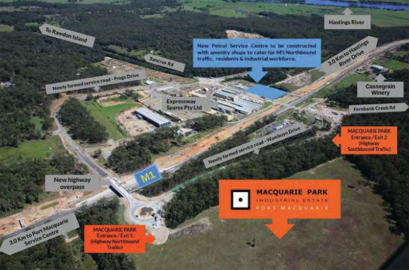 NEW INDUSTRIAL LAND RELEASE...