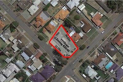 MASSIVE corner block with LOADS of development potential - FANTASTIC LOCATION!!!