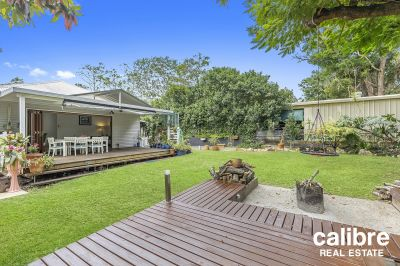 Entertaining Paradise! Check out the fire pit and outdoor area here.  Lovely Home in a Wonderful Area.