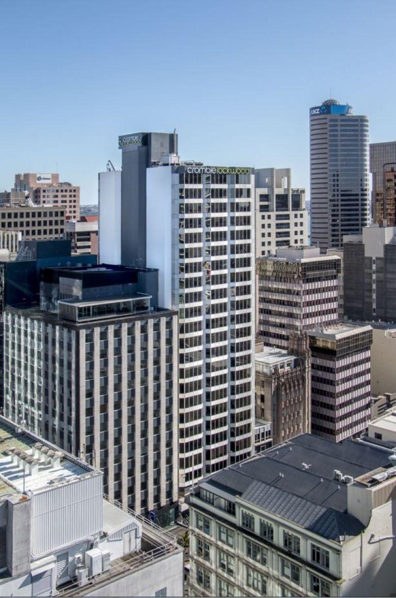 Superb views over Auckland city