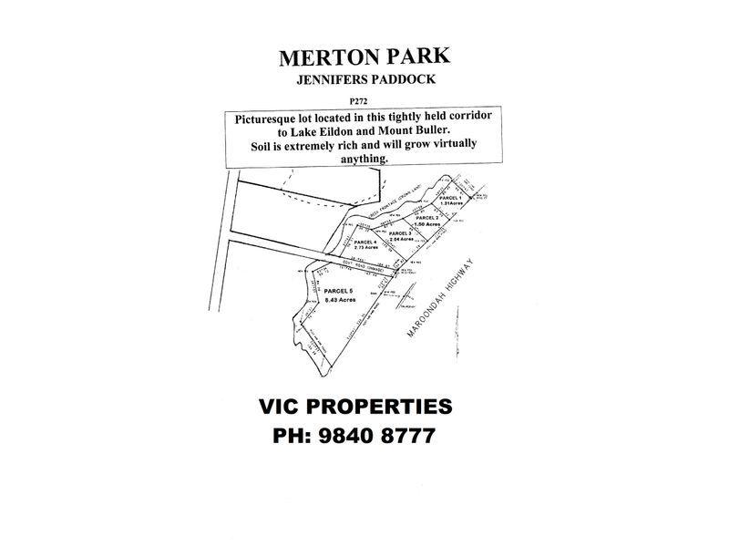 Parcel 2 Maroondah Highway, Merton VIC 3715