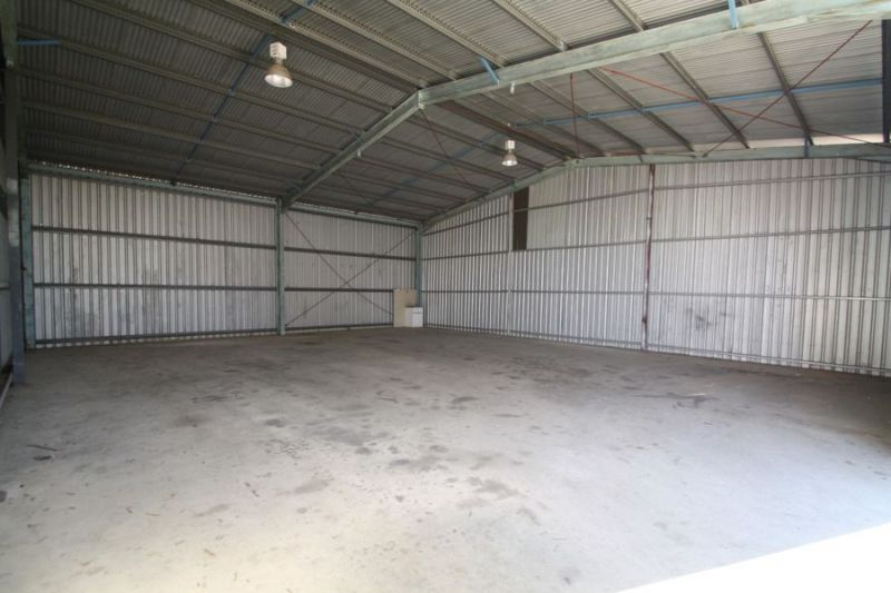Warehouse or workshop space...