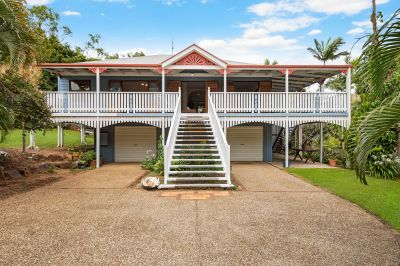 High set home with expansive views