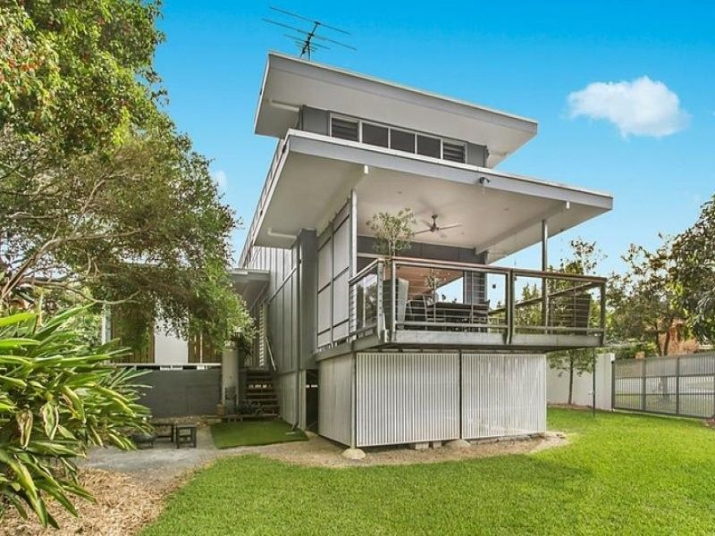 Sleekly appointed modern home in enviable locale