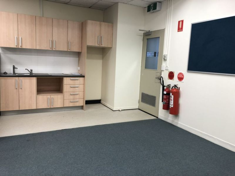 Central CBD Office with onsite parking.