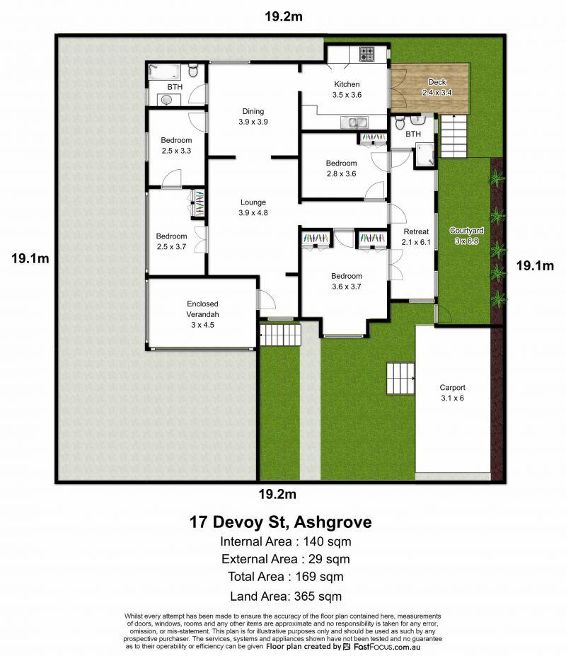 17 Devoy Street Ashgrove 4060