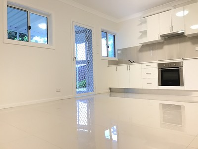 Newly renovated two-bedroom home next to the park (Ground Level of House For Rent)