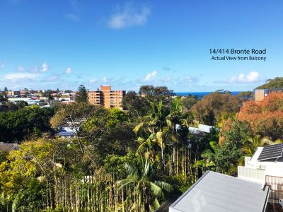 Discreet 1 bedroom unit with ocean and district views!