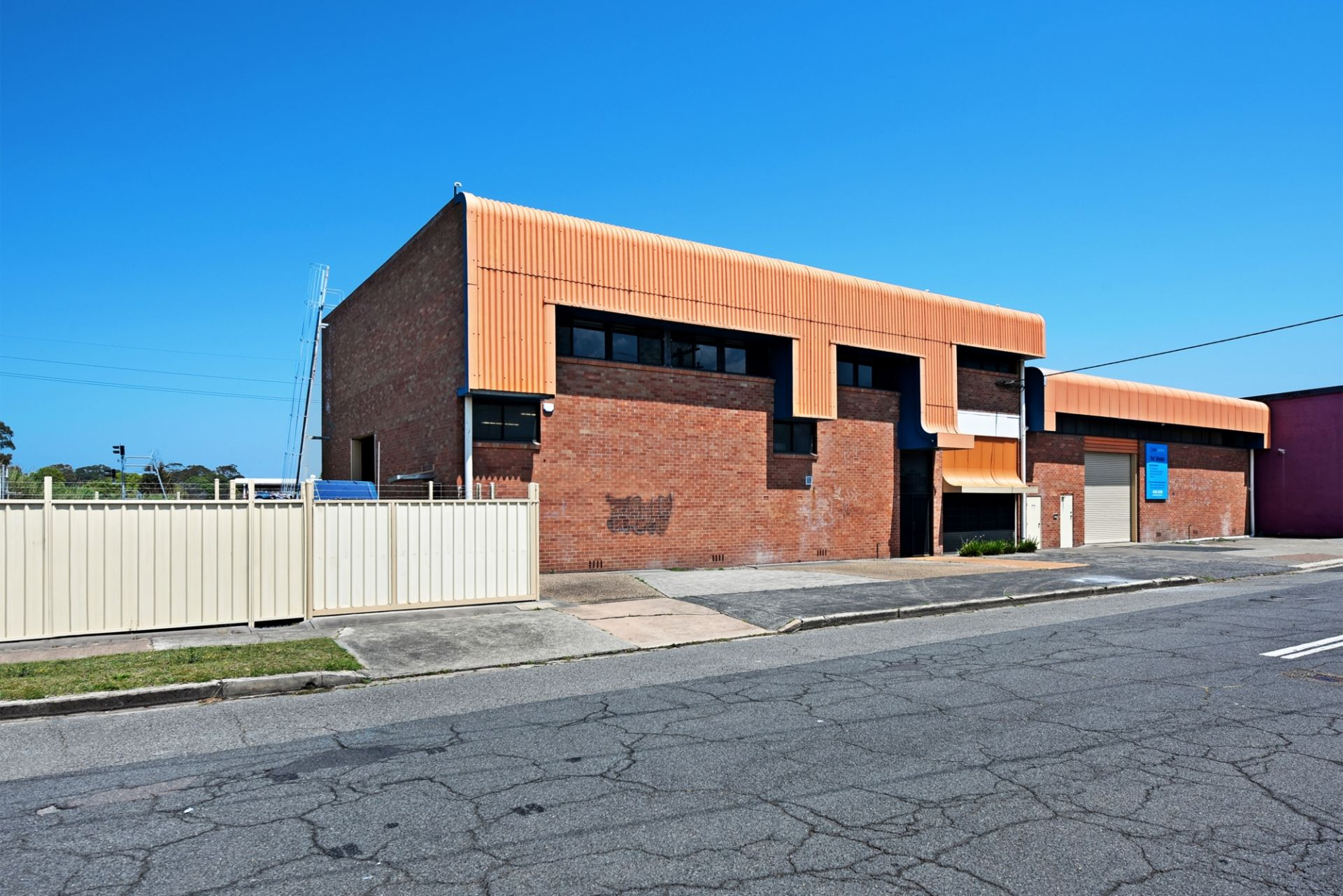 Warehouse Located within the City Limits