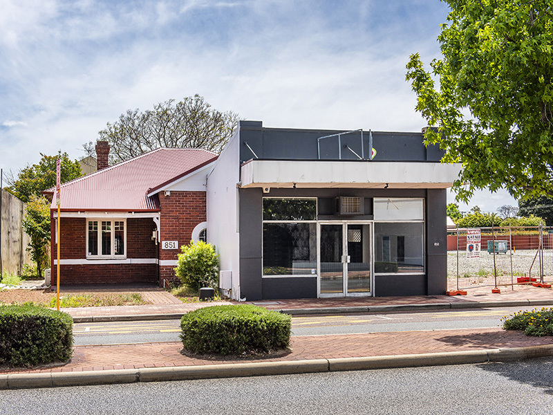 69sqm - Prominent Beaufort Street Frontage