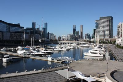 Podium living over the marina in highly sought Yarra's Edge