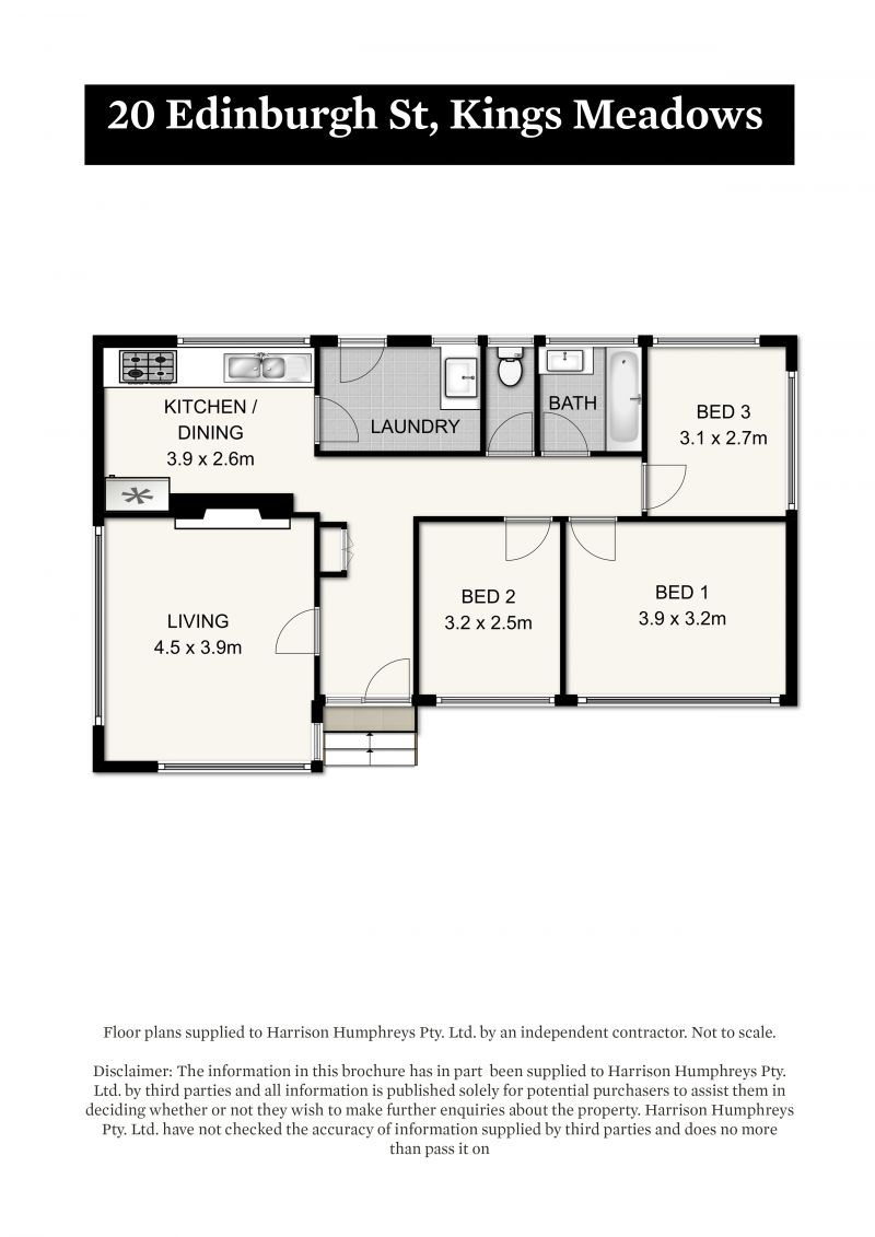 20 Edinburgh Street Floorplan