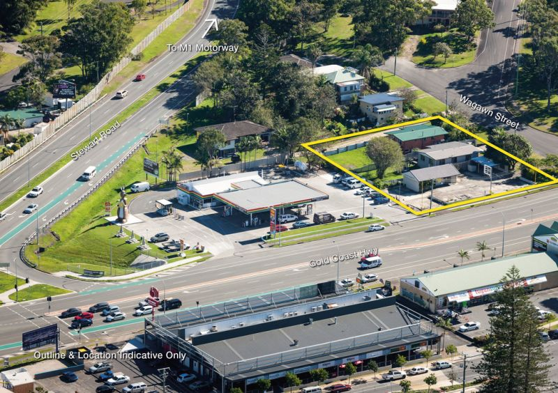 1,887m2 Gold Coast Highway , Corner Site!