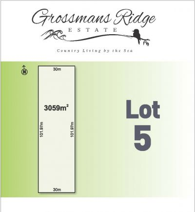Lot 5/460 Grossmans Road, BELLBRAE