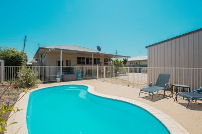 RIPPER BUYING! GENIUNE 4 BEDDER WITH POOL & 9M X 9M SHED!
