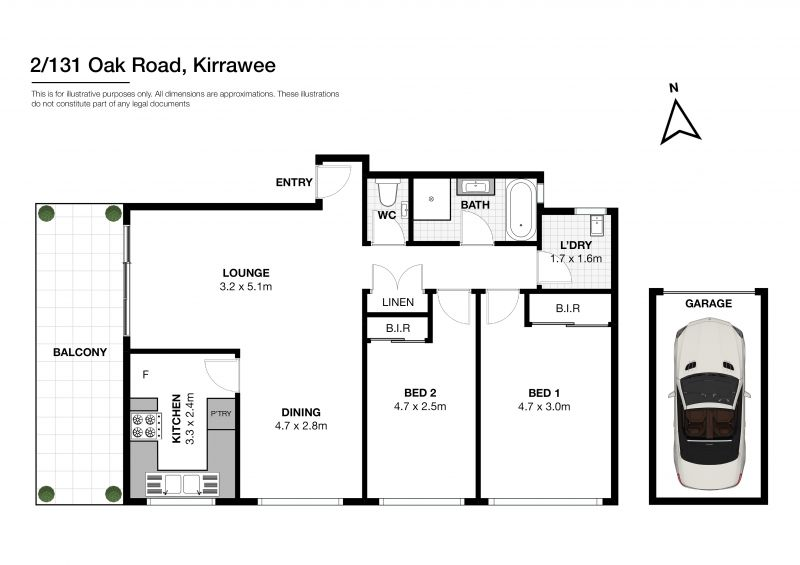 2/131-139 Oak Road KIRRAWEE 2232
