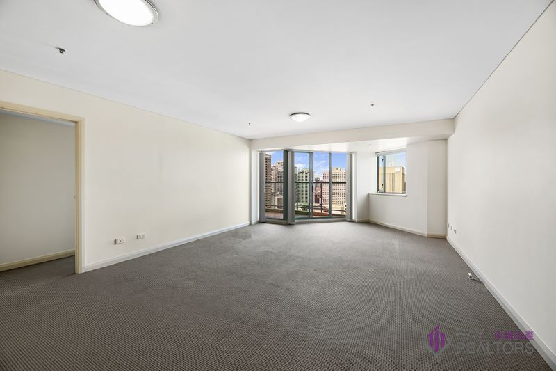 Spacious two bedroom apartment with panoramic city view