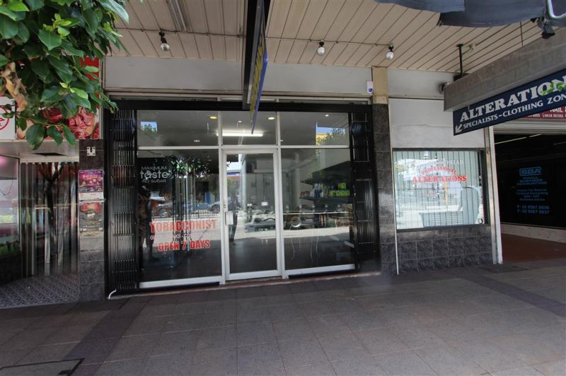 LEASED BY RYAN MCMAHON & MITCH BROWN - 61m² EXPOSURE SHOPFRONT