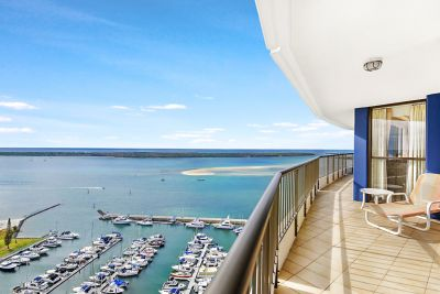 Impressive Apartment  23rd Floor  Breathtaking Broadwater Views