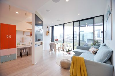 Apartment with study - $460,000