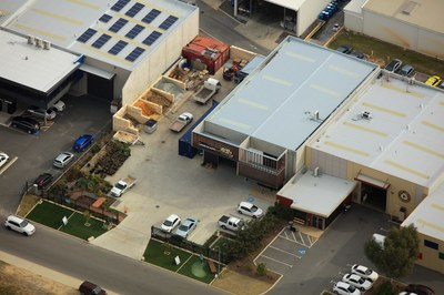 Industrial Warehouse, Offices, yard, hardstand and parking